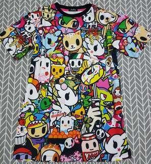 Brand New ~ Cute cartoon Dress