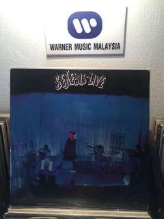Genesis live vinyl lp
