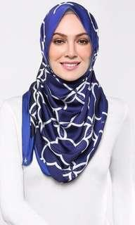 Duckscarves Lattice in Royal Blue
