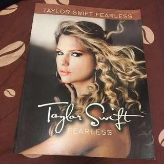 Taylor Swift Fearless Piano/Guitar/Vocal Book