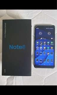 Wts note 8 blue used