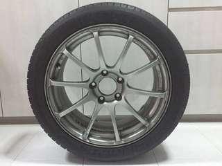 17x7.5j Advan Racing RS rim