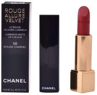 Chanel Lipstick rouge allure velvet 56 rouge 唇膏