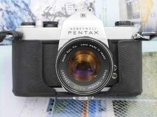 Pentax SP500 Film SLR + 55mm F1.8 [Professionally SERVICED]