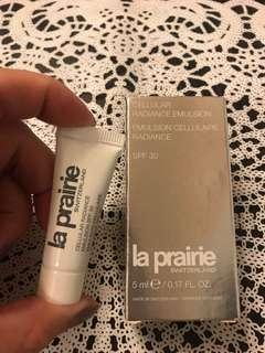 La Prairie Cellular radiance emulsion SPF30 活細胞晶瑩亮膚防晒修護乳液