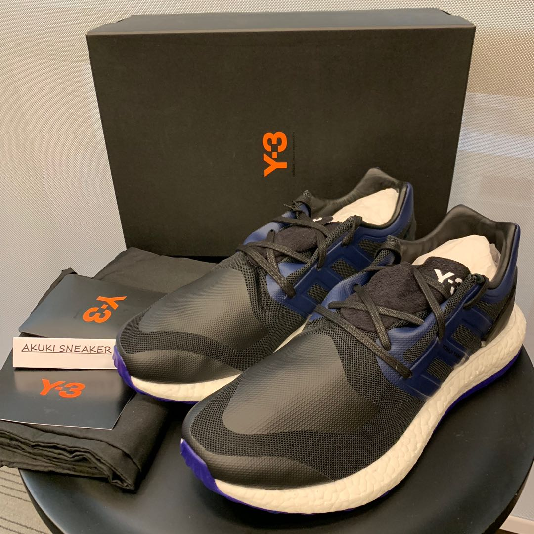 6417bb8885e5c 購自歐洲) Adidas Y-3 Pure Boost Empire Blue (BY8956) us8.5