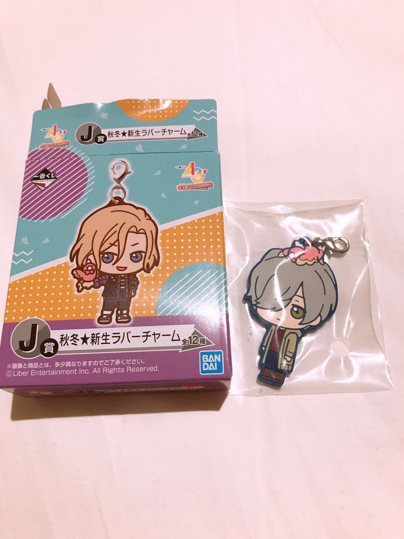 A3 Mikage Hisoka Kuji Prize J Rubber Strap Entertainment Pop On