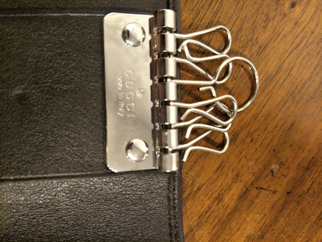 6f682e306c8a Authentic Leather Gucci Key Pouch holder, Luxury, Bags & Wallets, Others on  Carousell