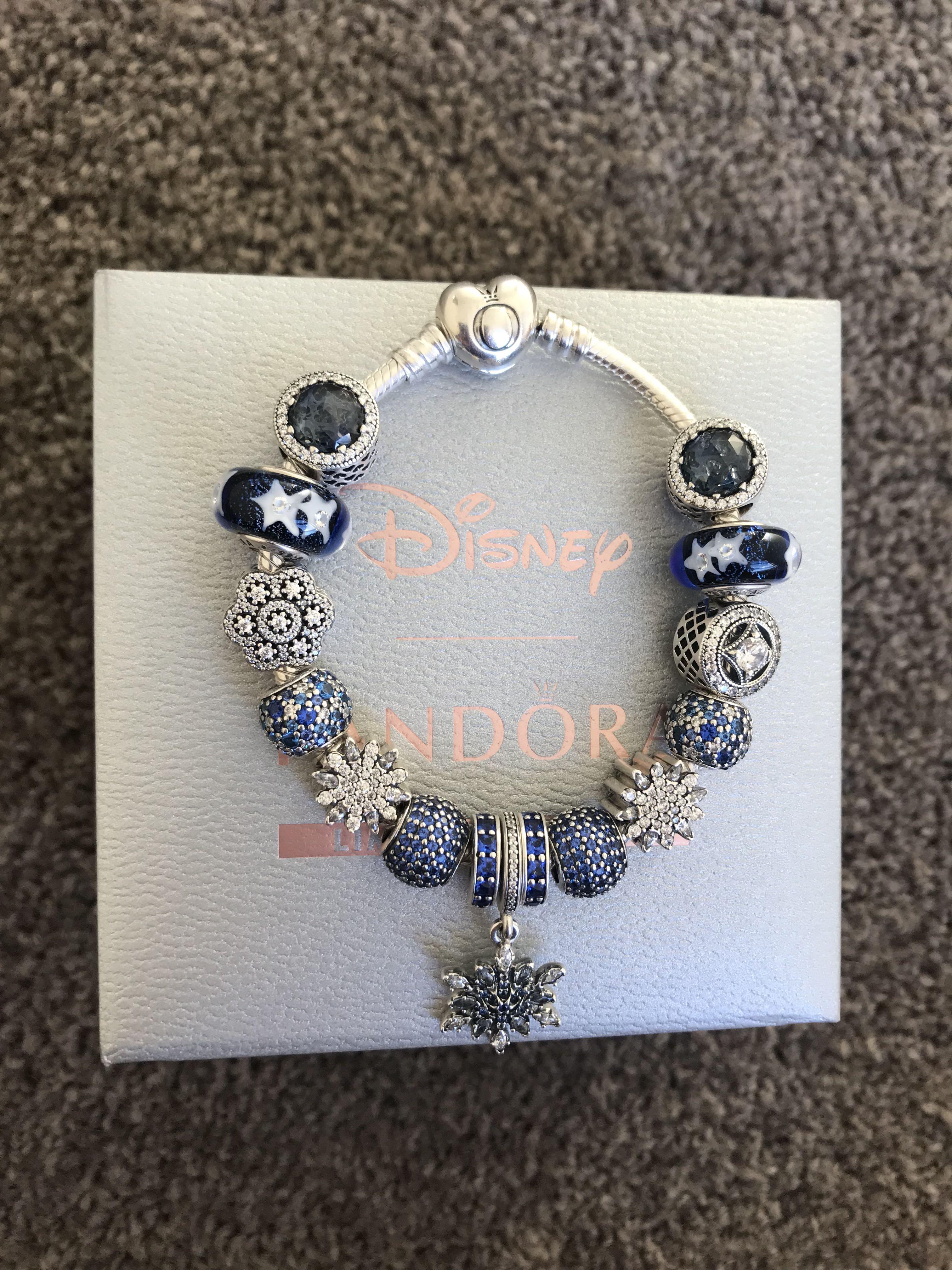 Authentic Pandora Bracelet with charms