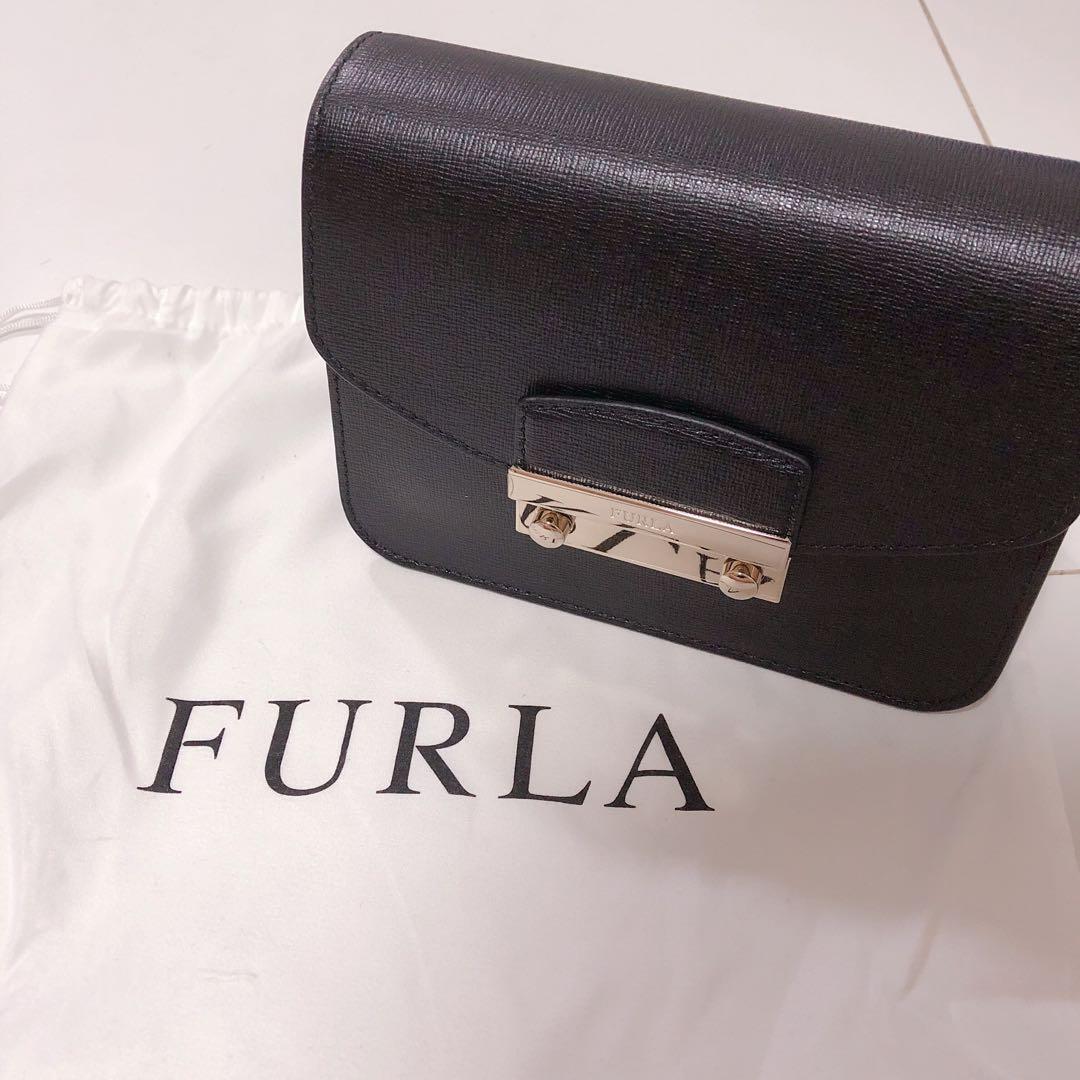 61d222f50b12 Brand New Black - Furla Julia Crossbody