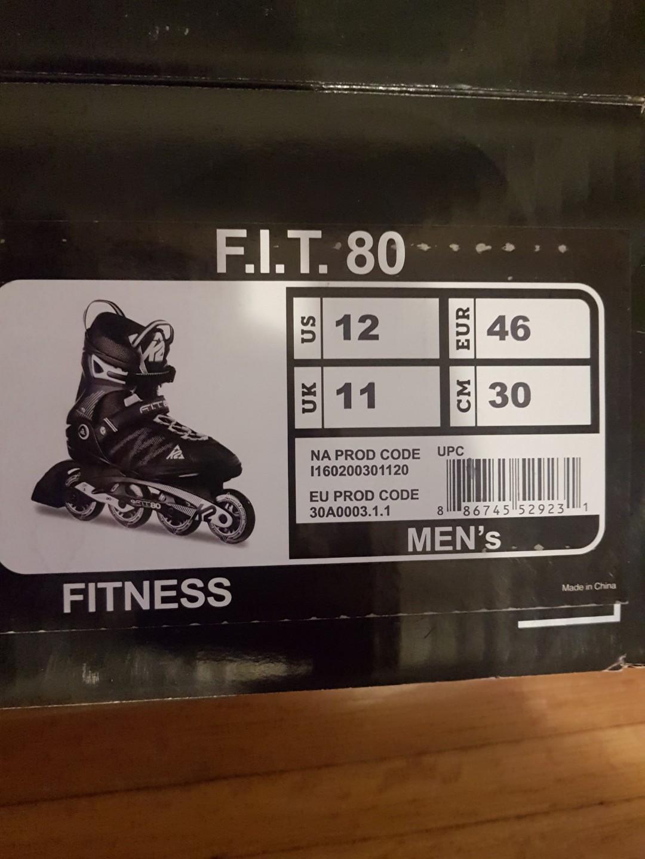 Brand new K2 Fitness roller blades.