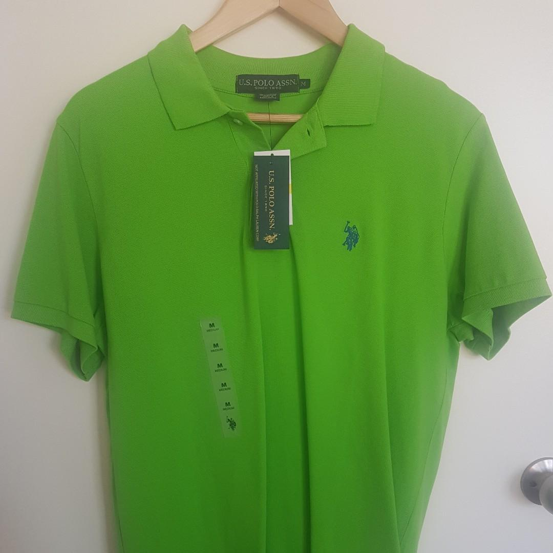 Brand new men's Ralph Lauren polo | Green | Medium