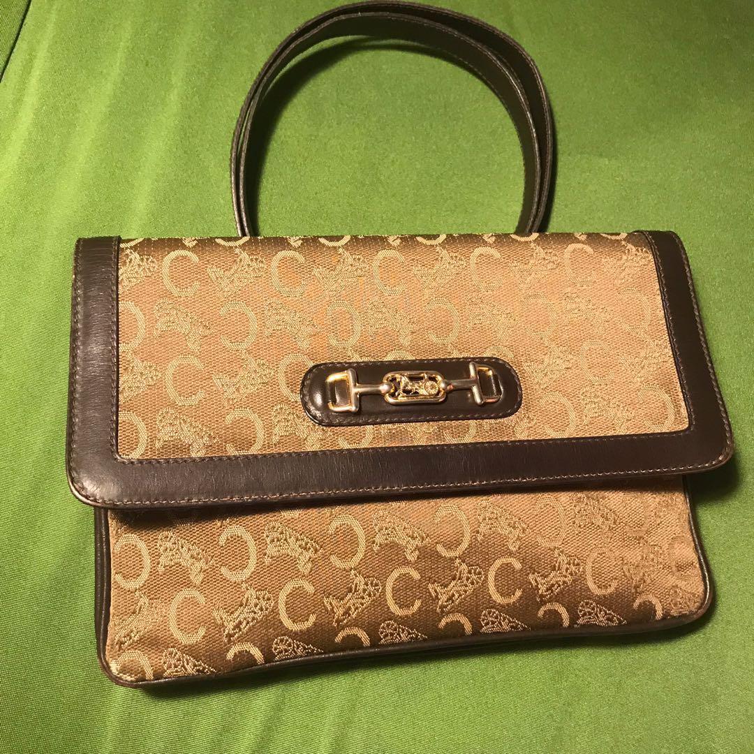 c586fe651f Celine vintage trifold sling bag