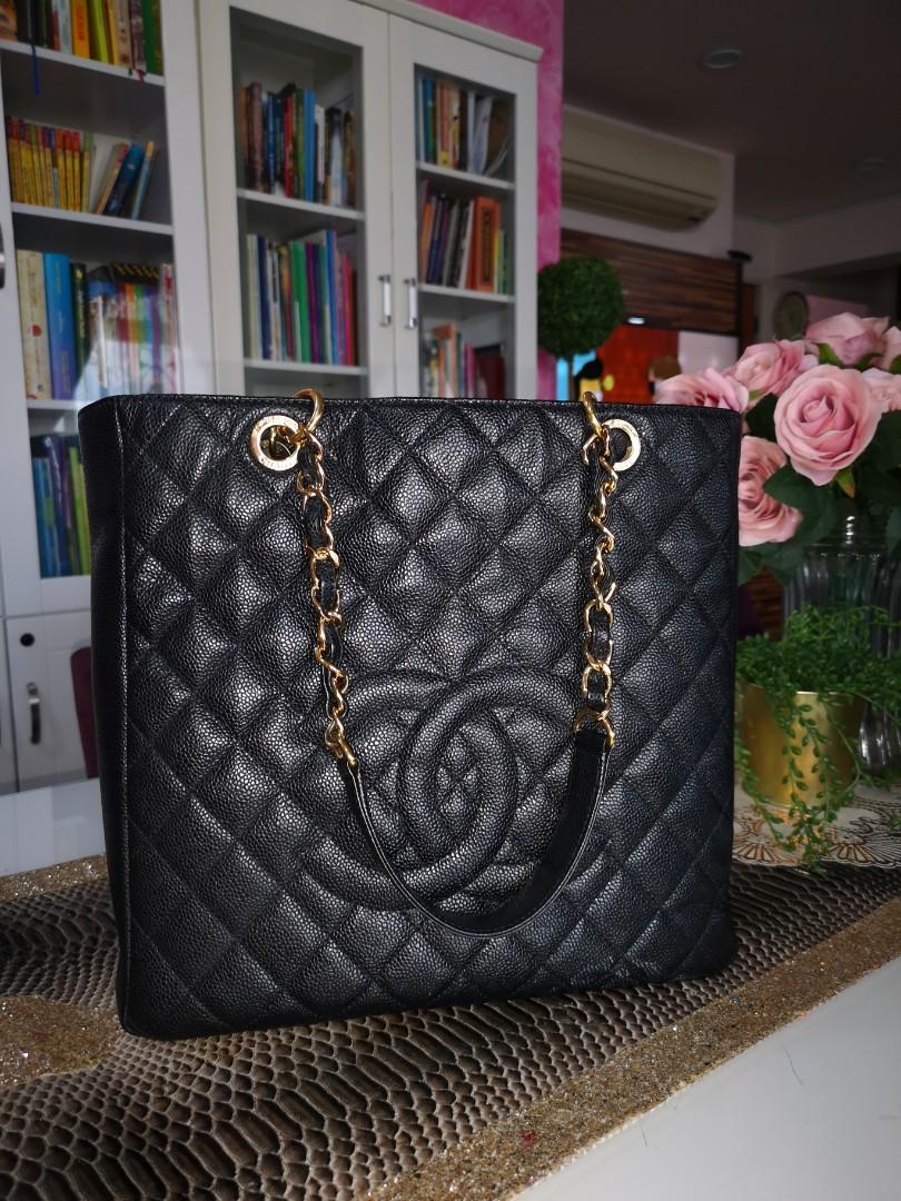 c91d2fec01b8 💯 AUTHENTIC preloved Chanel PST, Luxury, Bags & Wallets, Handbags ...