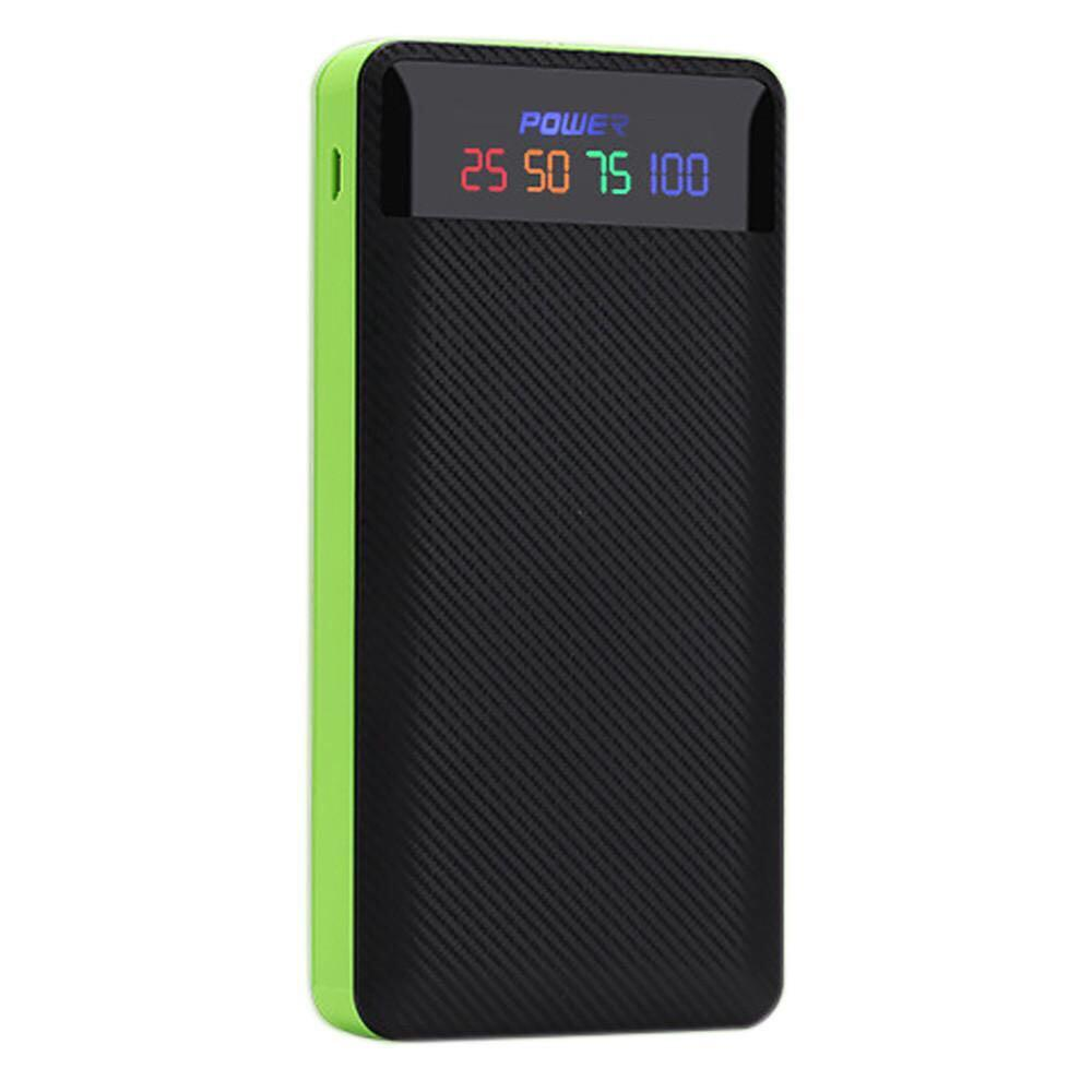 Dual USB Power Bank Battery Charger with LED Lighting