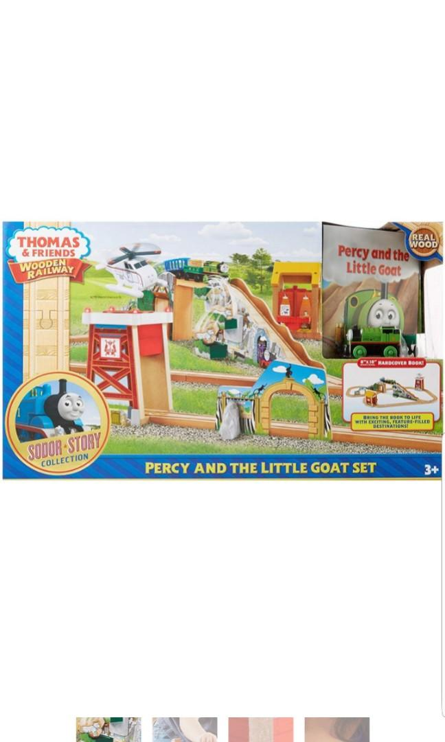 Fisher Price Thomas Friends Wooden Railway Percy The Little Goat