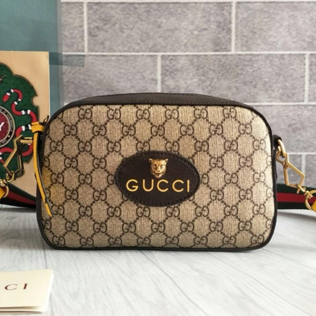 09ce40a34f9 Gucci bag Cowhide material Popular style bag
