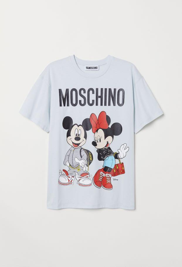 H&Moschino SHIRT WITH HANGER (only meeting up until nov 25)