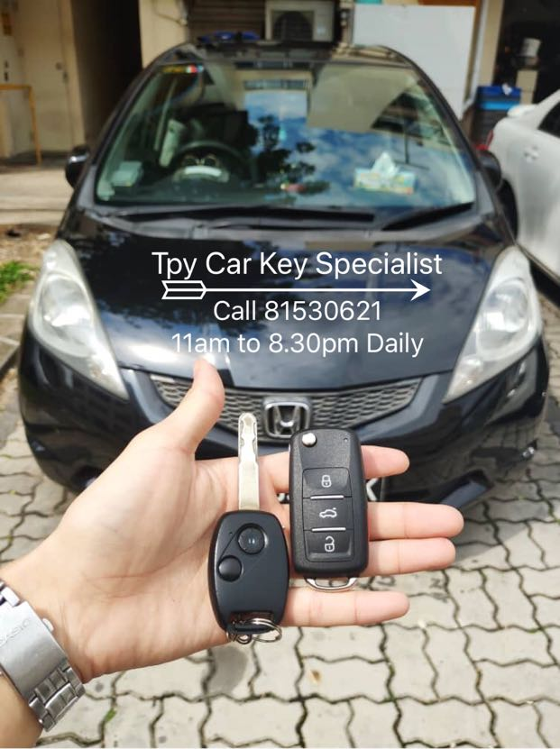 Honda Fit Remote Key Car Accessories Accessories On Carousell