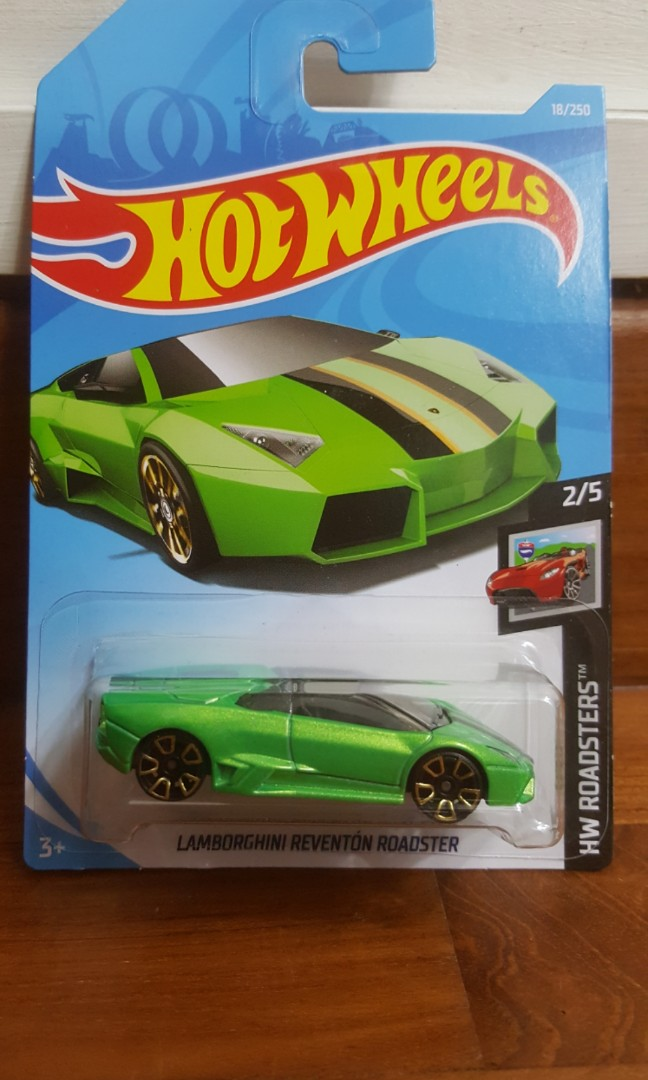 Hot Wheels Lamborghini Reventon Roadster 2019 Car Toys Games