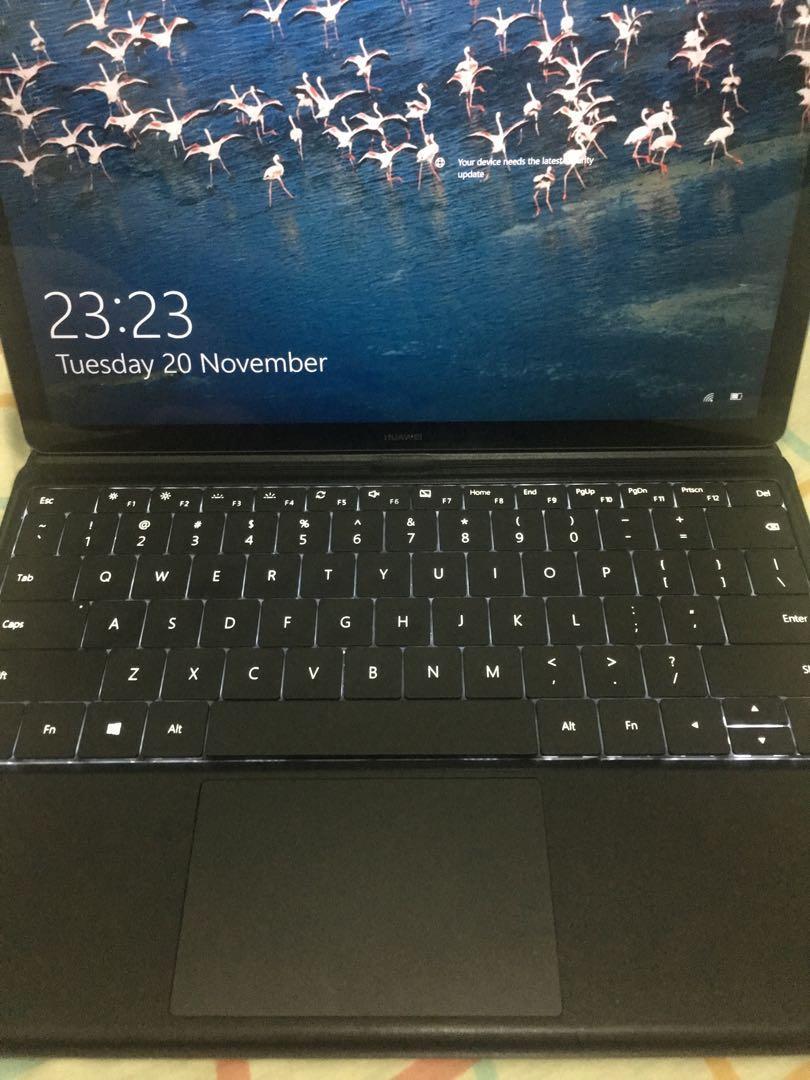 Huawei Matebook HZ-W09 128gb SSD Windows 10 on Carousell