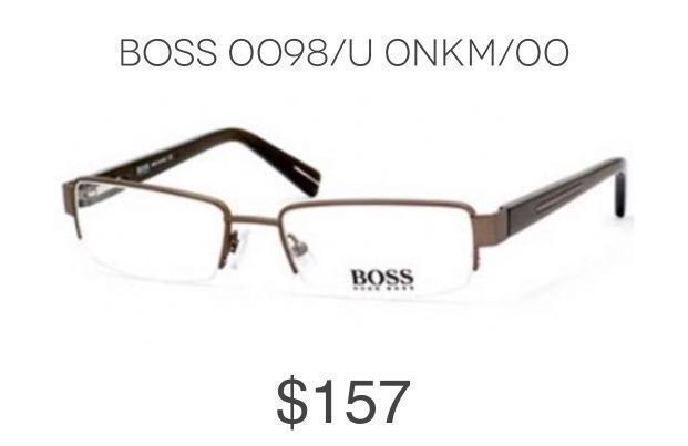 7d86bcc603 Hugo Boss Eyeglasses Frame Boss0098