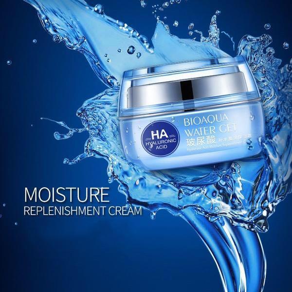 Hyaluronic Acid Day Cream (50g): Whitening, Moisturizing, Anti Wrinkle, Anti Aging Face Cream