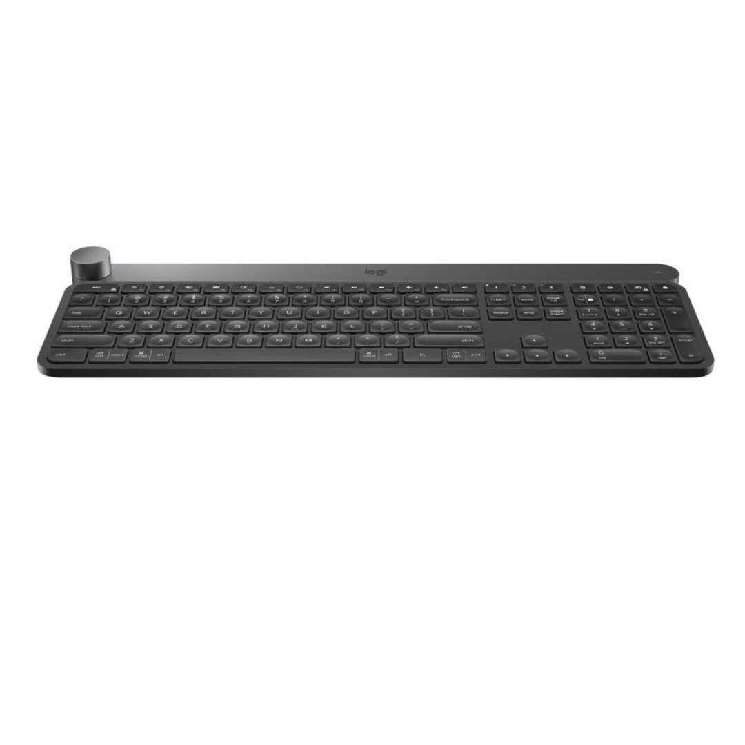 354c587d737 LOGITECH CRAFT - ADVANCED KEYBOARD WITH CREATIVE INPUT DIAL, Electronics,  Computer Parts & Accessories on Carousell