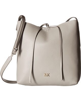 032169c6147f Michael kors Junie Large Pebbled Leather Messenger, Luxury, Bags ...