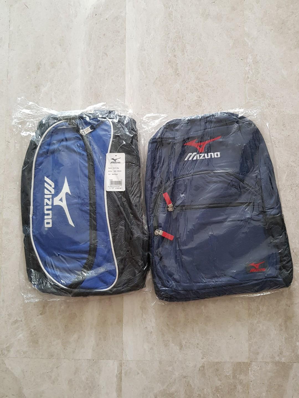 e1e3222feb Mizuno duffle and backpack bag