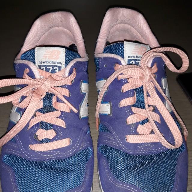 NEW BALANCE 373 blue & soft pink ORI