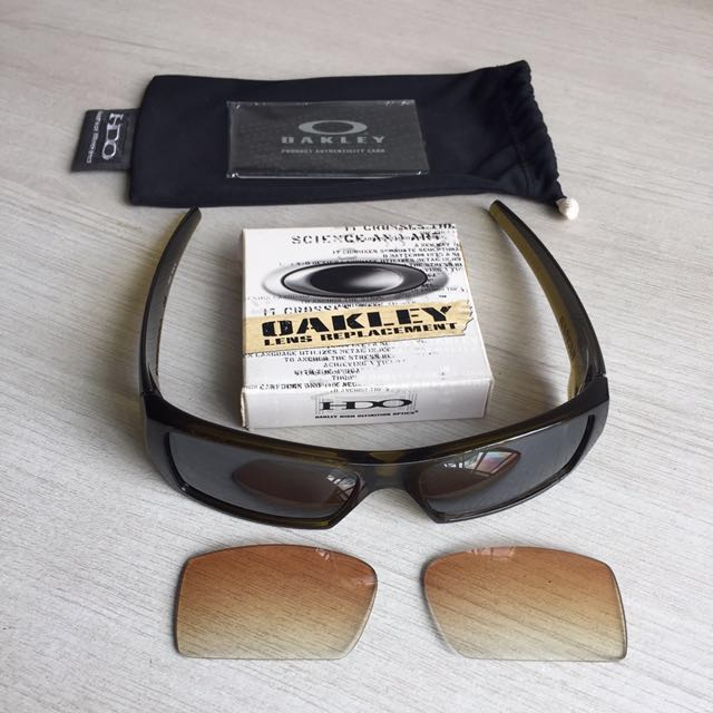 3ab58a0ae8 Oakley Gascan (Asian Fit) Genuine Sunglasses w  Black Iridium spare ...