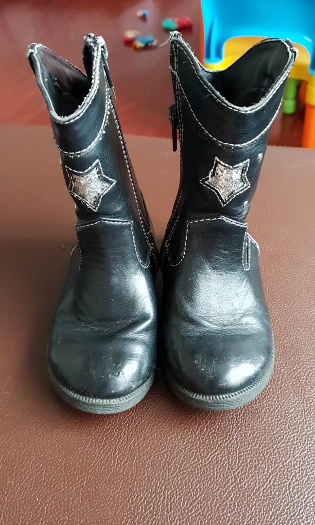 0f186fc922b9 Okie dokie leather boots