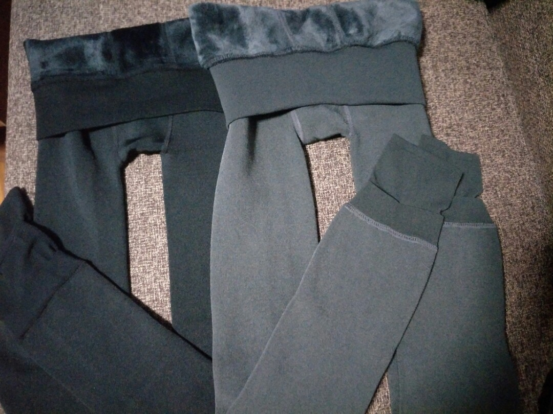 SELLING FAST! PLS READ DETAILS AND MEET UP LOCATION! BNIB WINTER LEGGINGS  WITH INNER FLEECE (PRICE DEPENDS ON THICKNESS!)