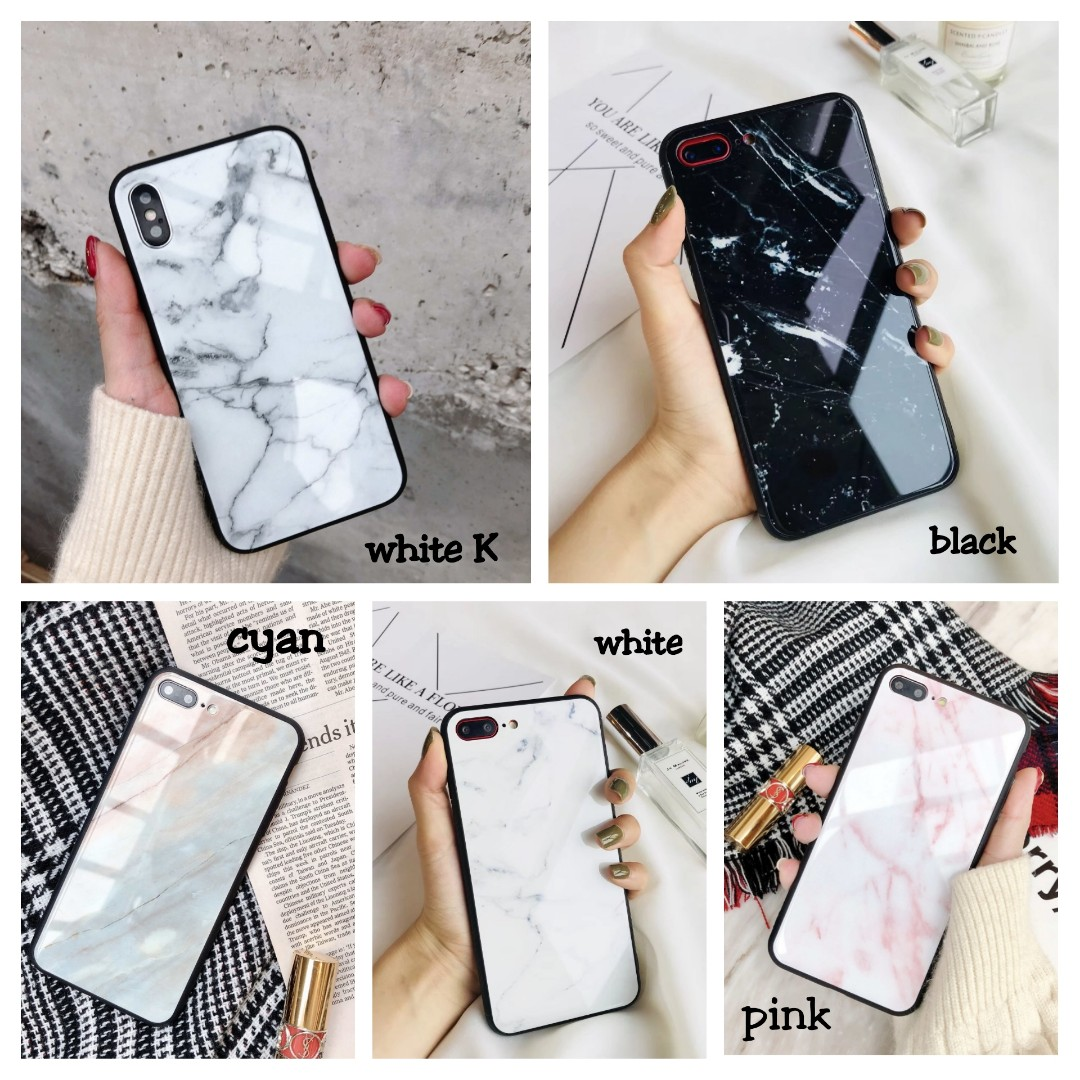best authentic 6c826 d03e3 [PO] Glossy Marble Phone Case