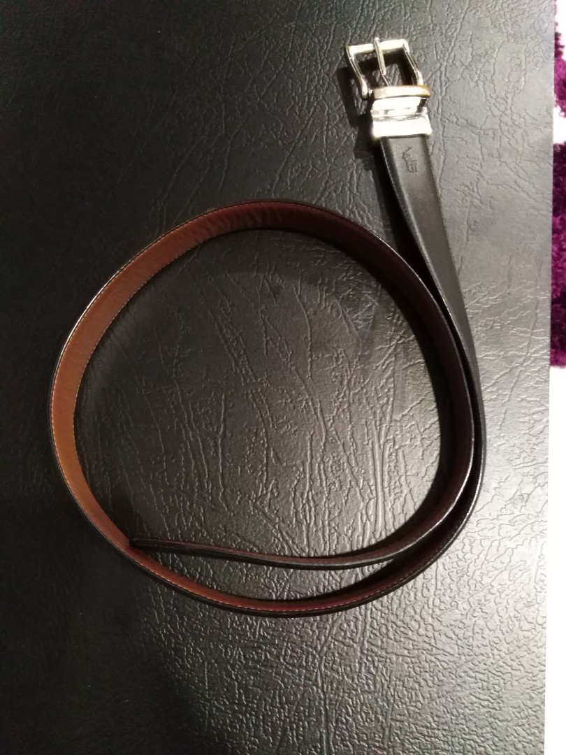 97a4a831d194 Polo Ralph Lauren reversible leather belt