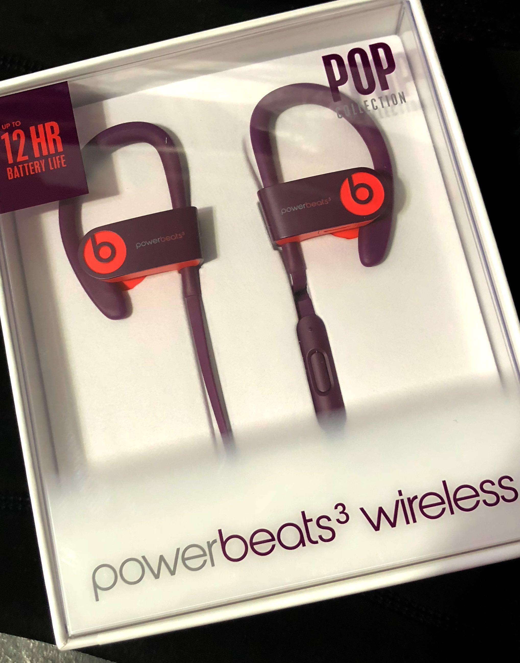 a9fcabeaa24 Powerbeats 3 Wireless Earphone, Electronics, Audio on Carousell