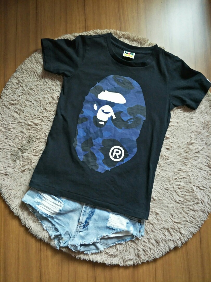 ced86758 Preloved Authentic Bathing Ape Tee., Women's Fashion, Clothes, Tops ...