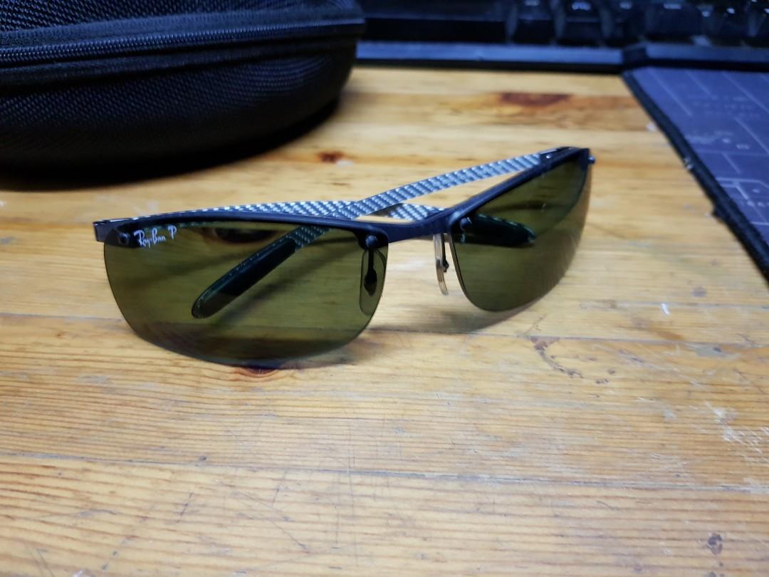 7e1067099653d Rayban P rb8305 carbon fibre sunglasses w pouch