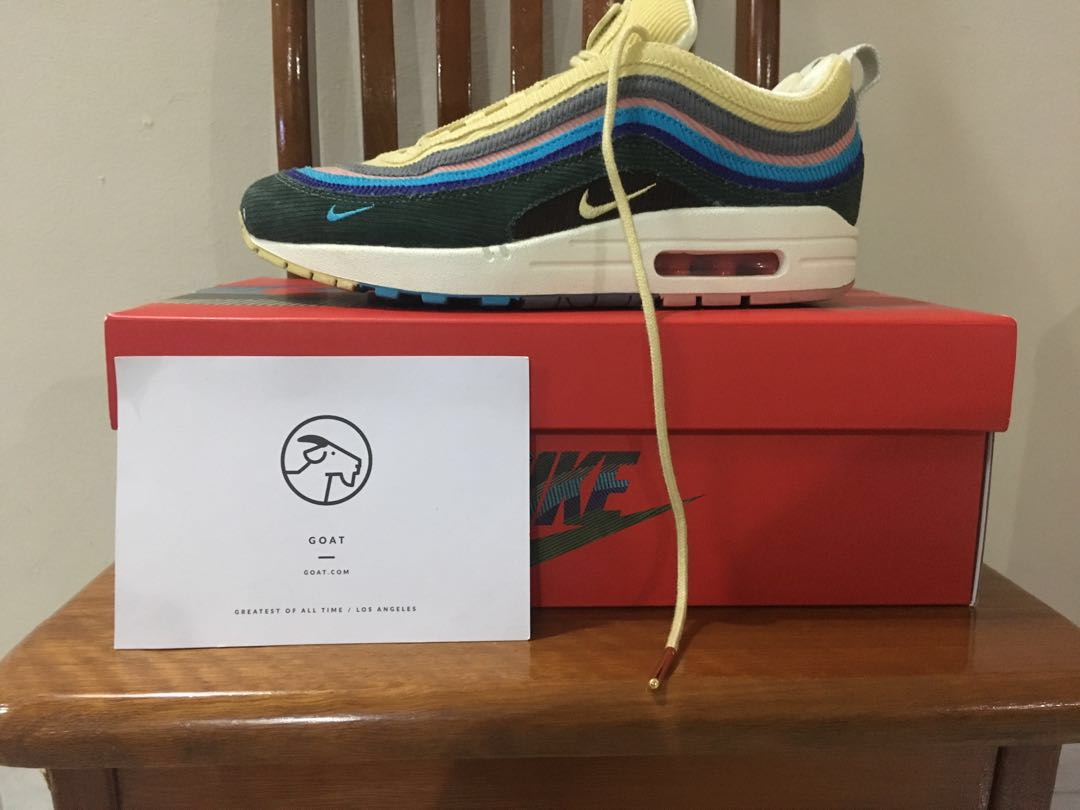 Sean Wotherspoon AirMax 971 US7, Men's Fashion, Footwear