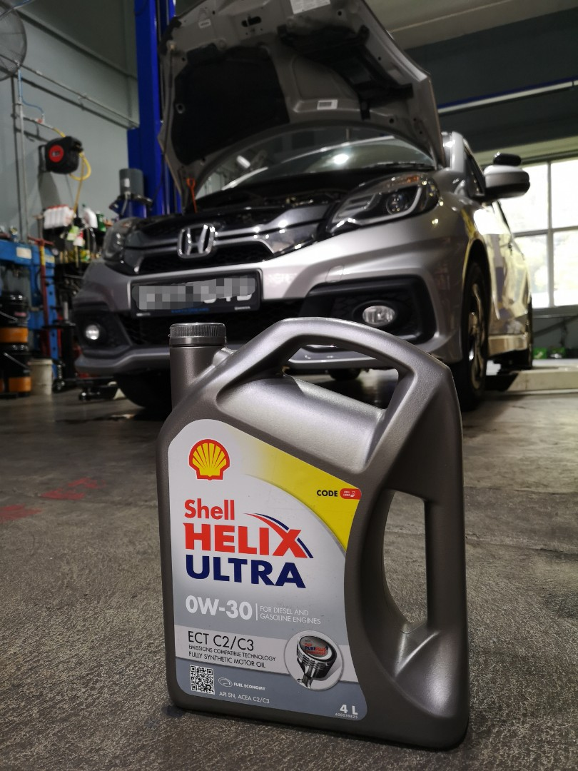 Shell 0w30 Servicing Mobilio Car Accessories Car Workshops