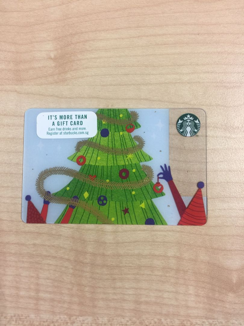 Starbucks Card Christmas Tree 2018 Entertainment Gift Cards