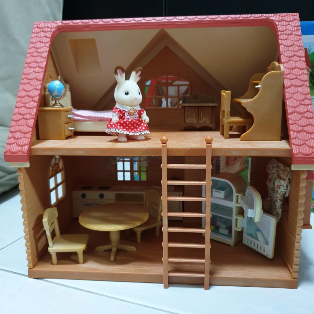Sylvanian family home interior set