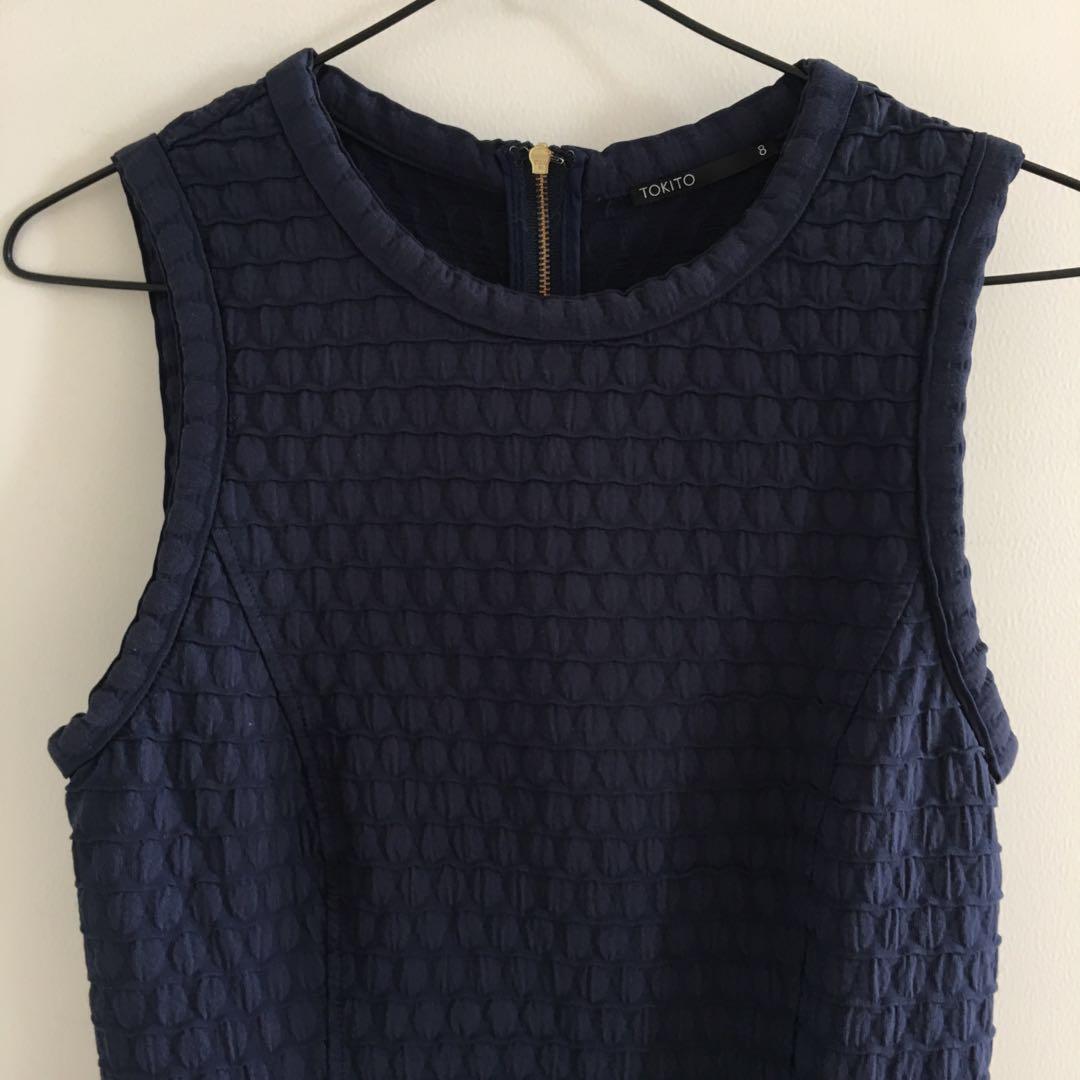 Tokito Navy Dress