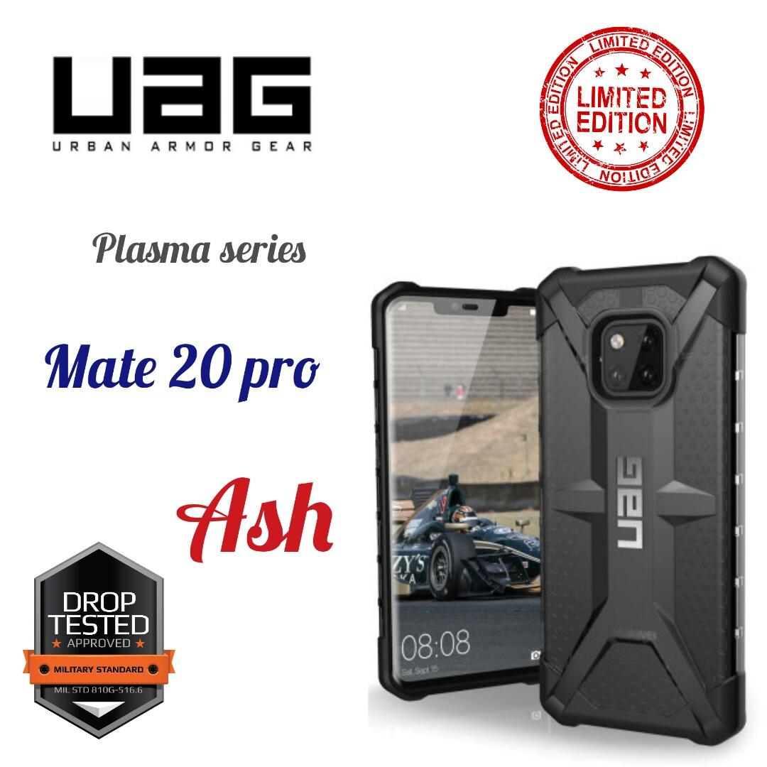 big sale 97cc4 da196 Uag Plasma Series Huawei Mate 20 Pro Ash