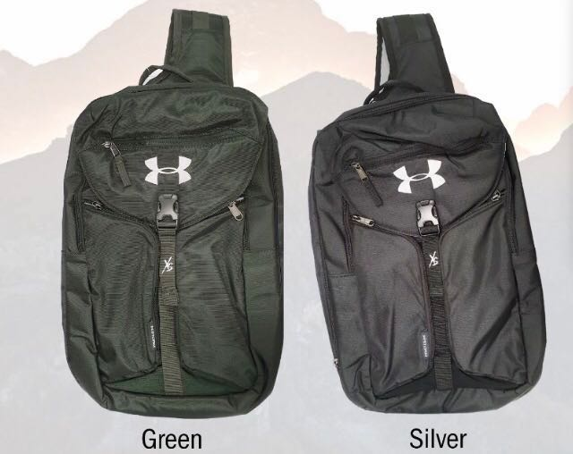 Under Armour Authentic Sling Bag Green Or Black fca00d25530c1