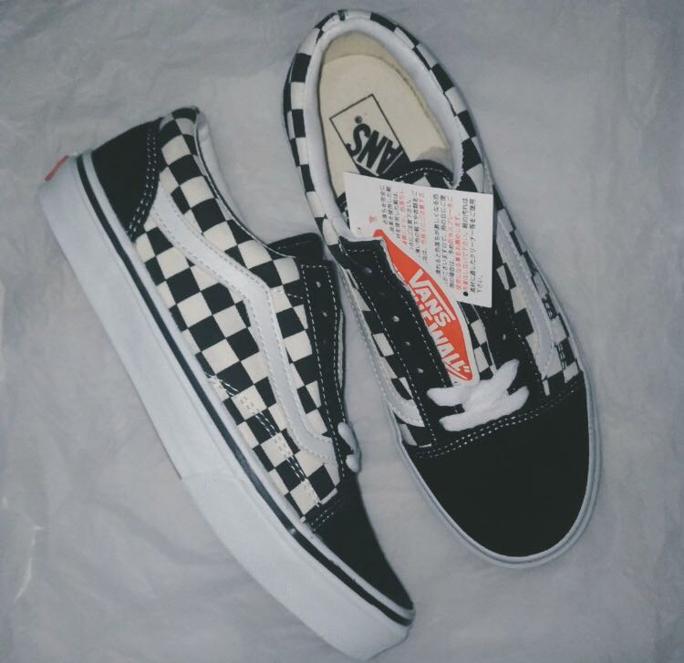 10578eee74 vans oldskool V36-38 black and white original