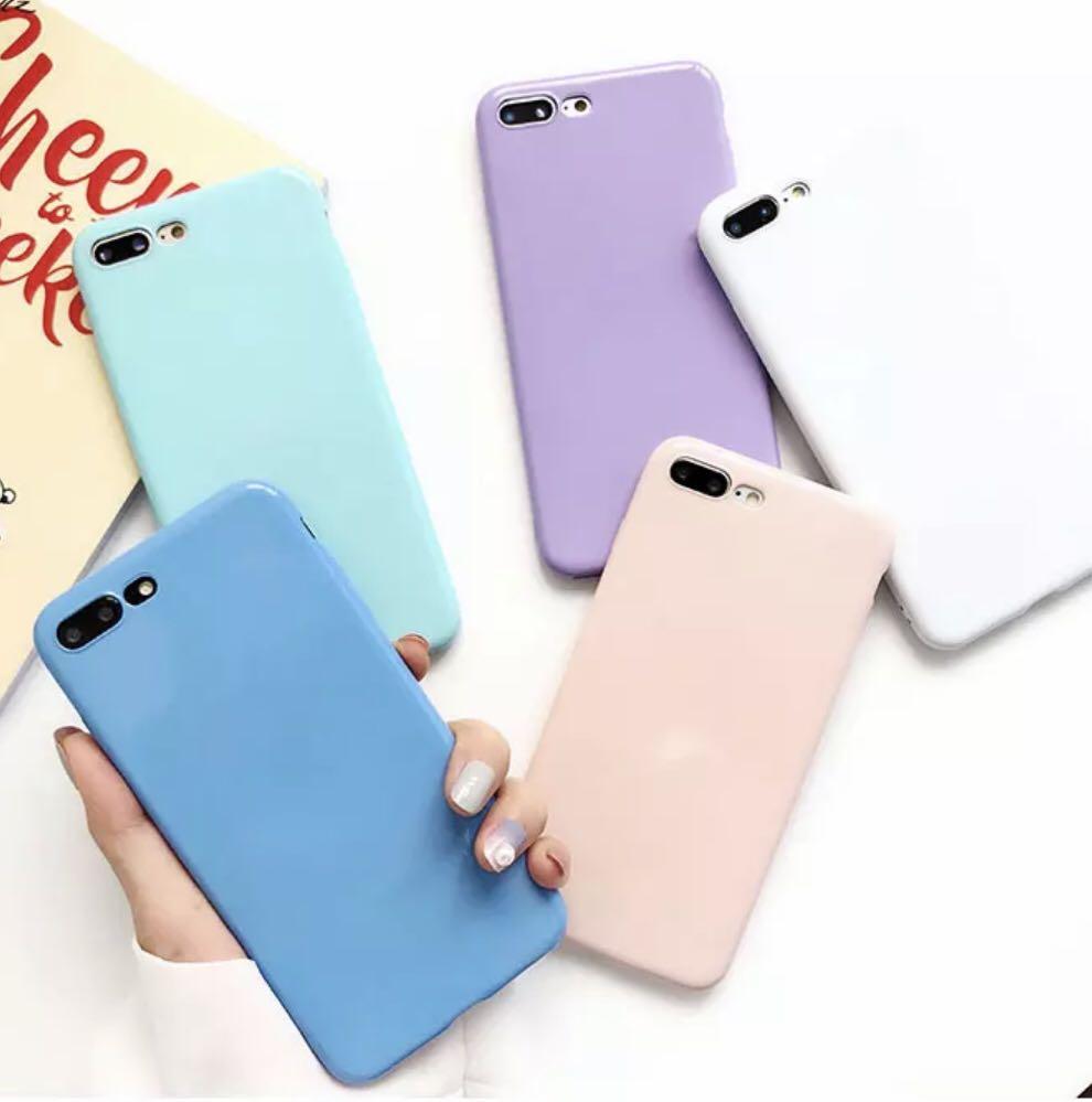 new concept d001c 0016a Vivo Plain Pastel Phone Case