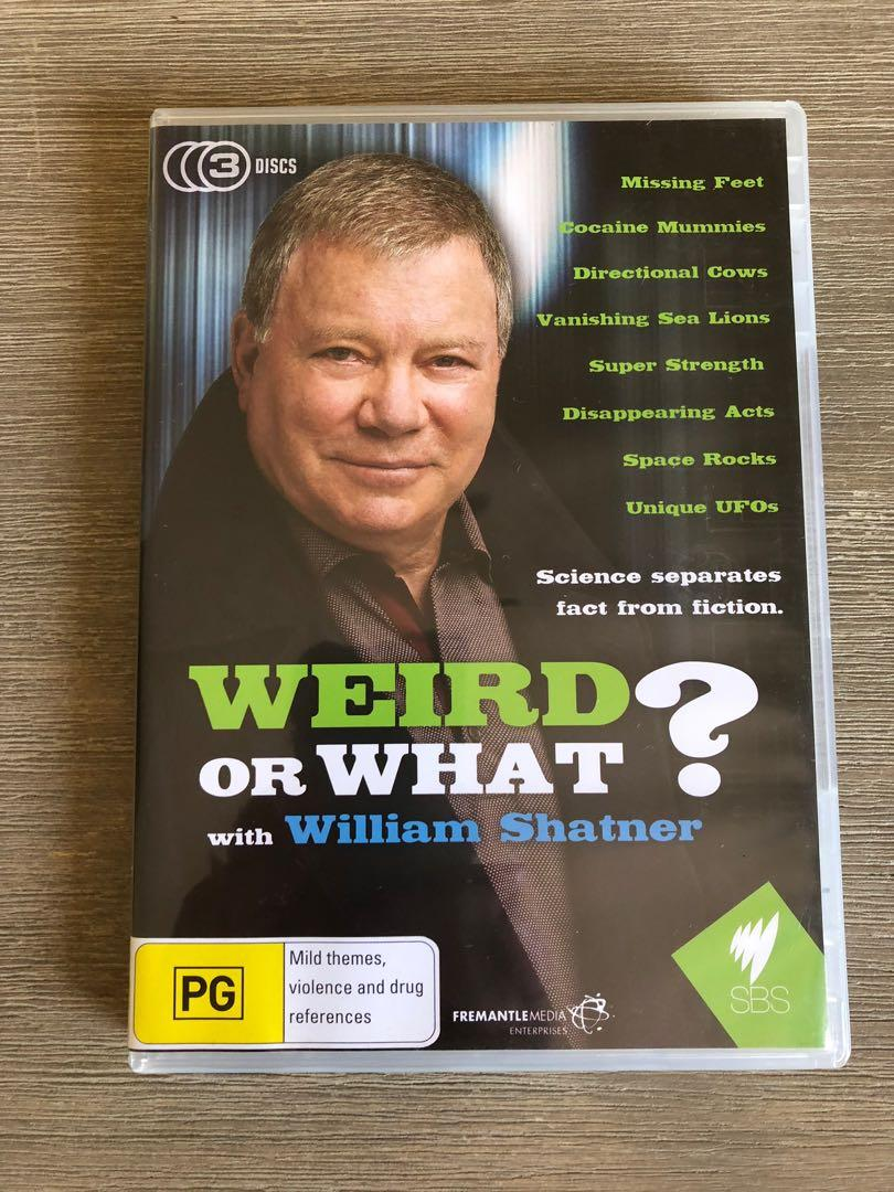 Weird Or What? with William Shatner DVD - 3 Disc Set