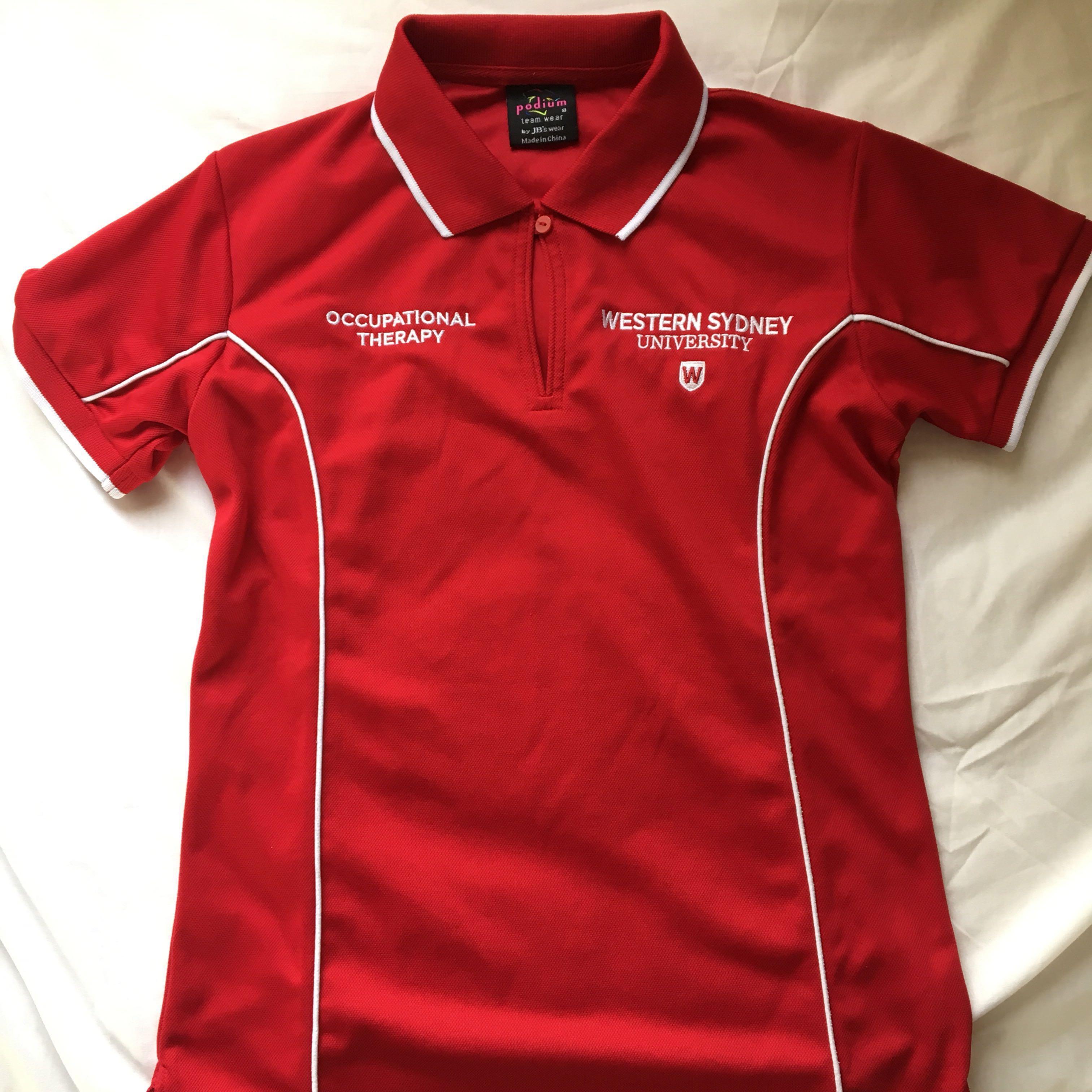 WSU placement polo shirt